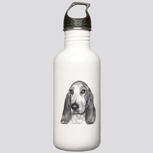 Basset Hound Stainless Water Bottle 1.0L