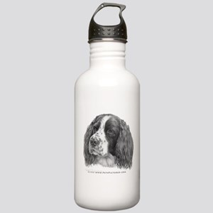 Sebastian, Springer Spaniel Stainless Water Bottle