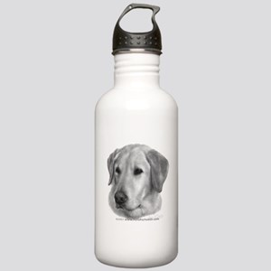 Yellow Labrador Retriever Chr Stainless Water Bott
