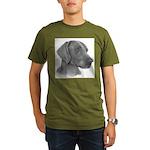 Weimeraner Organic Men's T-Shirt (dark)