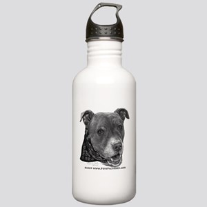 Roxy, Pit Bull Terrier Stainless Water Bottle 1.0L
