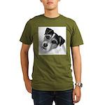 Jack (Parson) Russell Terrier Organic Men's T-Shir