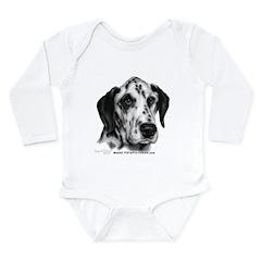 Friday, Dalmatian Long Sleeve Infant Bodysuit