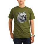 English Bulldog Organic Men's T-Shirt (dark)