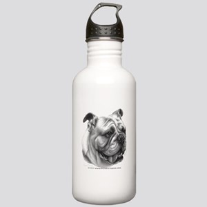 English Bulldog Stainless Water Bottle 1.0L
