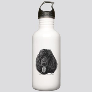 Shadow, Standard Poodle Stainless Water Bottle 1.0
