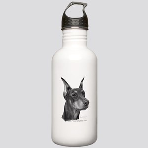 Doberman Pinscher Stainless Water Bottle 1.0L