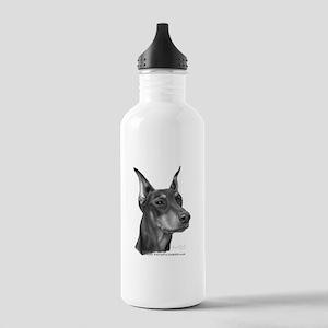 Doberman Pinscher Stainless Water Bottle 1.0L