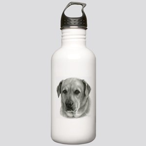 Lindsay - Yellow Lab Mix Stainless Water Bottle 1.