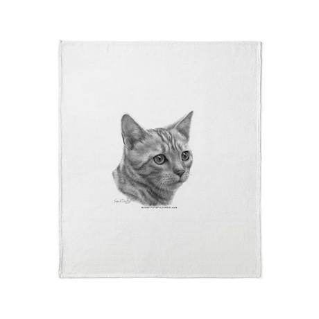 Bengal Cat Throw Blanket