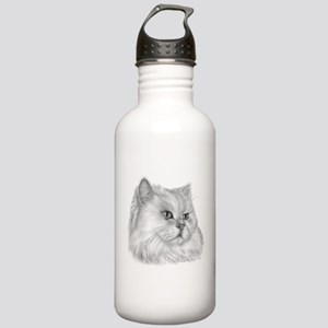 Persian Cat Stainless Water Bottle 1.0L