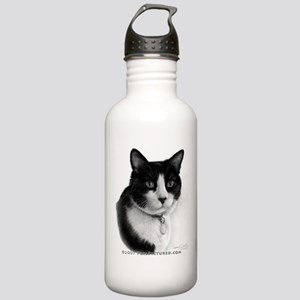 Tuxedo Cat Stainless Water Bottle 1.0L