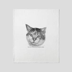 Calico Cat Throw Blanket