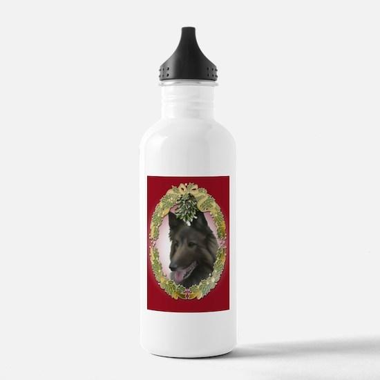 Belgian Tervuren (Fawn) Chris Water Bottle