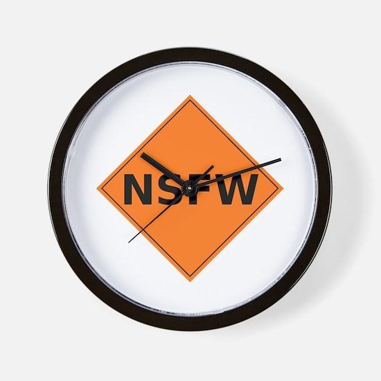 NSFW Wall Clock