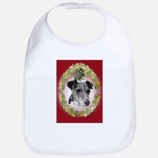 Fox Terrier Christmas Bib
