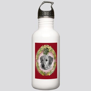 Yellow Lab Christmas Stainless Water Bottle 1.0L