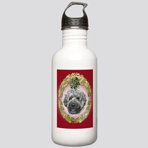 Wheaten Terrier Christmas Stainless Water Bottle 1