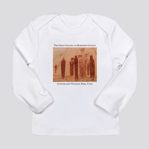 Great Gallery Pictographs Long Sleeve Infant T-Shi