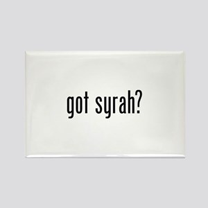 Got Syrah Rectangle Magnet