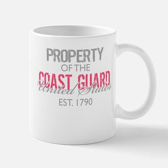 Property of the US Coast Guar Mug