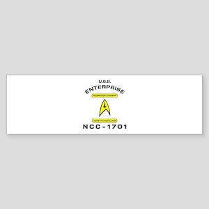 Star Trek NCC-1701 Sticker (Bumper)