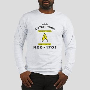 Star Trek NCC-1701 Long Sleeve T-Shirt