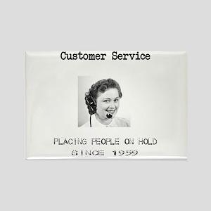 Customer Service Rectangle Magnet