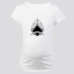 flame spade Maternity T-Shirt