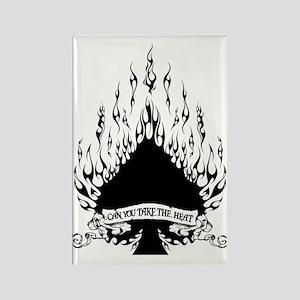 flame spade Rectangle Magnet