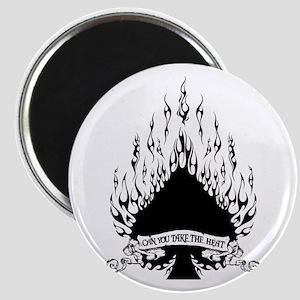 flame spade Magnet