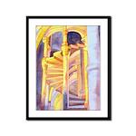 La Conciergerie Watercolor Framed Panel Print