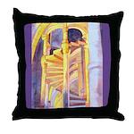 La Conciergerie Watercolor Throw Pillow