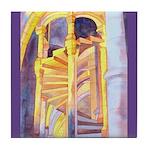 La Conciergerie Watercolor Tile Coaster