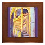 La Conciergerie Watercolor Framed Tile