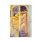 La Conciergerie Watercolor Rectangle Magnet