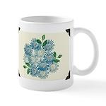 Blue Mums Mug