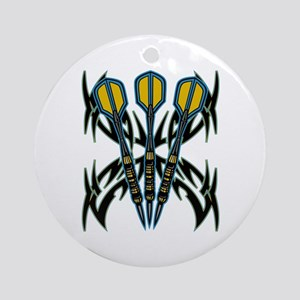 Tribal Darts Ornament (Round)