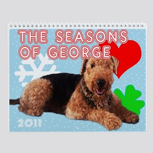 The Season of George the Aire Wall Calendar