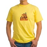 CENTURY, 100 miles Yellow T-Shirt