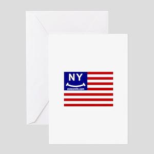 NY Smile Flag(TM) Greeting Card