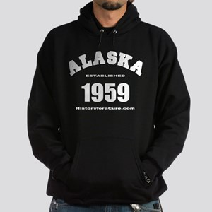 The State of Alaska Hoodie (dark)