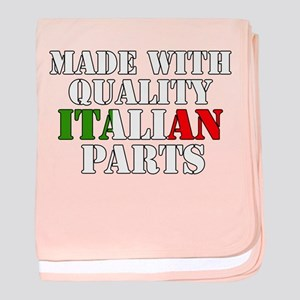 Quality Italian Parts baby blanket
