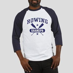 Rowing Grandpa Baseball Jersey