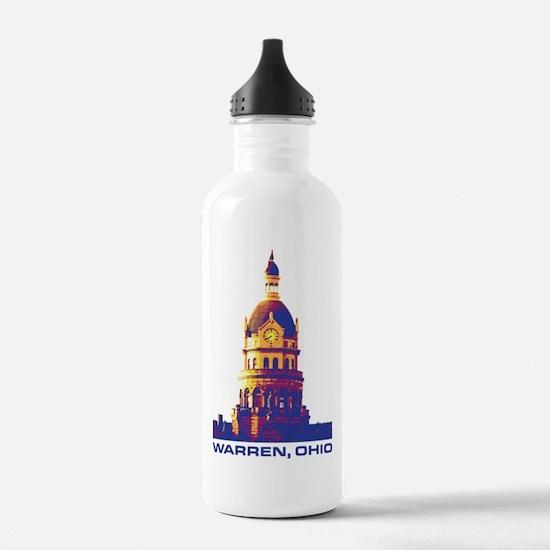 Warren Courthouse - Wa Water Bottle