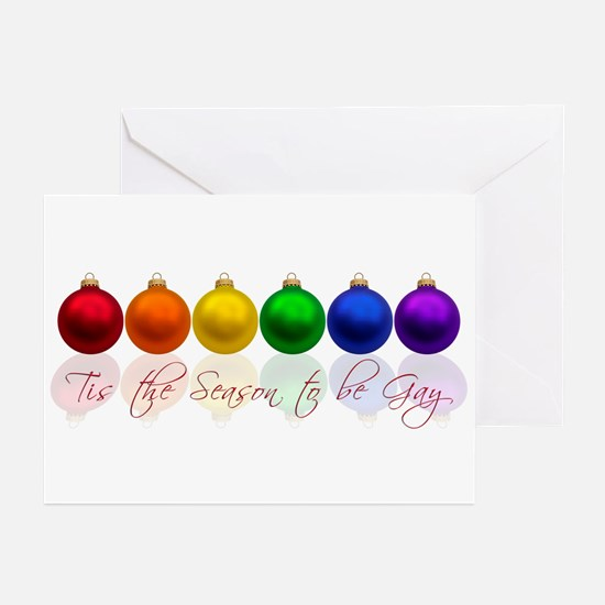 Tis the season to be gay Greeting Cards (Pk of 20)