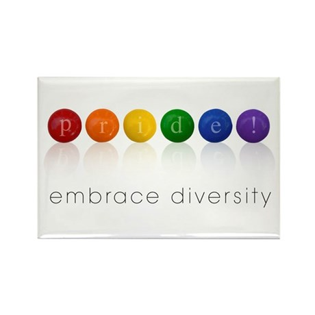 pride candy Rectangle Magnet (10 pack)