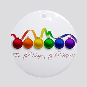 christmas pride Ornament (Round)