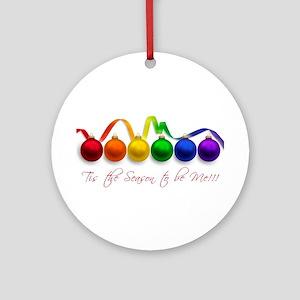 christmas pride Ornament (Round)