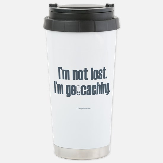 I'm Not Lost Stainless Steel Travel Mug